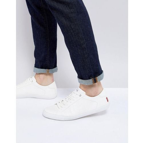 woods brilliant white trainers - white, Levis