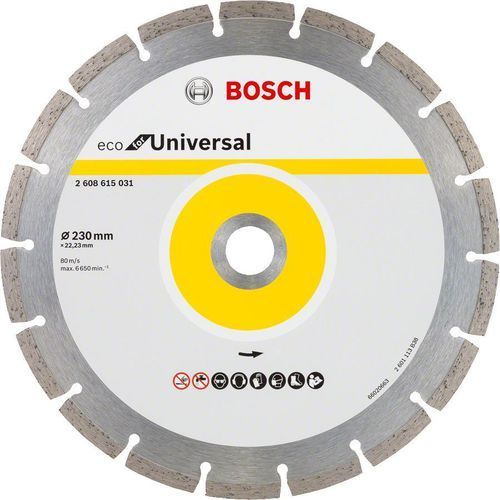 Bosch_elektonarzedzia Tarcza diamentowa bosch eco for universal 10 szt. (2608615044) + darmowy transport! (3165140857215)