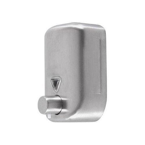 dozownik mydła w płynie ze stali nierdzewnej lab 0,8 l marki Faneco