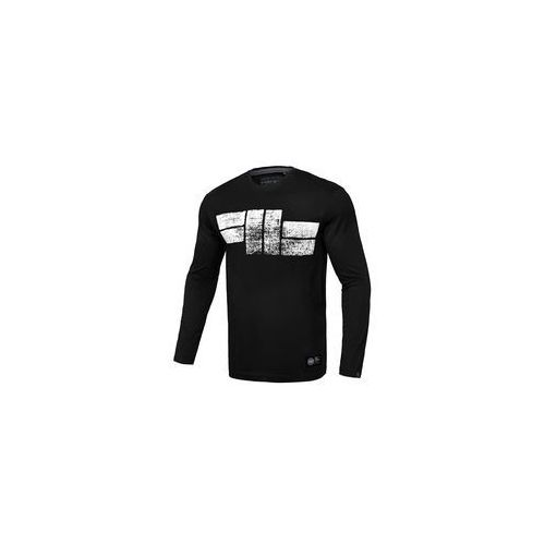 Koszulka z długim rękawem Pit Bull Classic Logo'19 - Czarna (239003.9000)