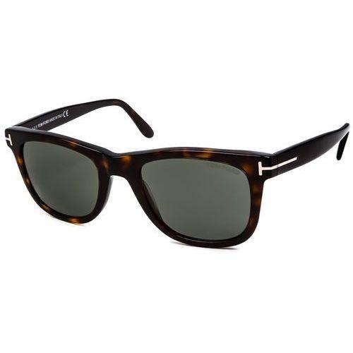 Tom ford Okulary słoneczne ft0336 leo polarized 56r