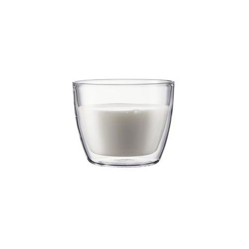 Szklanki termiczne niskie 2 szt Bistro Bodum 0,45l przezroczysty