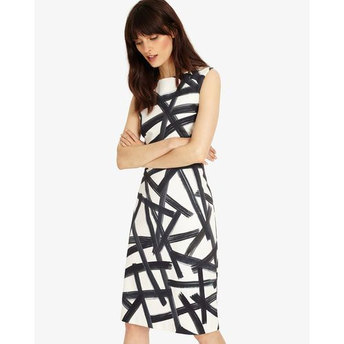Phase Eight Bea Brush Stroke Dress, w 5 rozmiarach