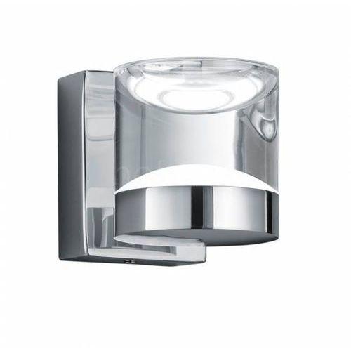 Trio leuchten Trio 2827 lampa łazienkowa led chrom, 1-punktowy - nowoczesny - obszar wewnętrzny - brian - czas dostawy: od 6-10 dni roboczych