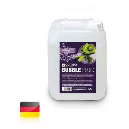 Cameo BUBBLE FLUID 5L-specjalny płyn do wytwarzania baniek mydlanych