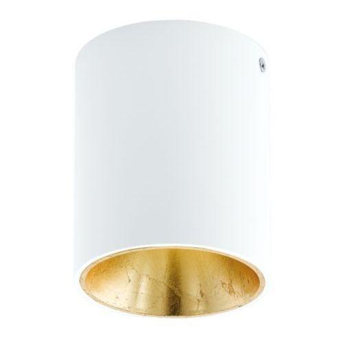 lampa sufitowa POLASSO biało/złota - okrągła, EGLO 94503