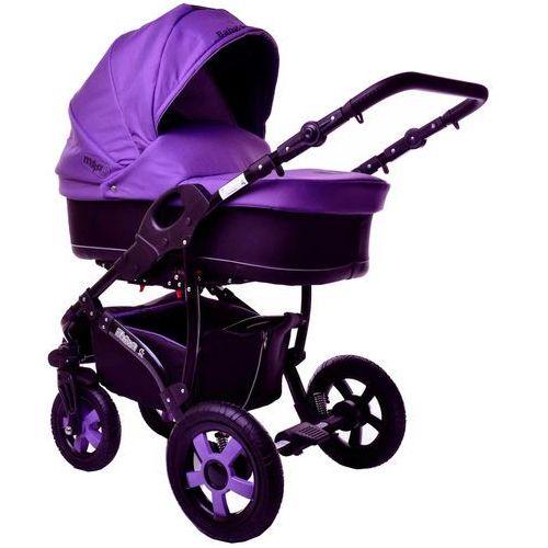 Sun Baby Wózek wielofunkcyjny Ibiza 2w1, fioletow - OKAZJE