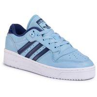 Buty adidas - Rivalry Low FV3349 Clblue/Dkblue/Ftwwht, kolor niebieski