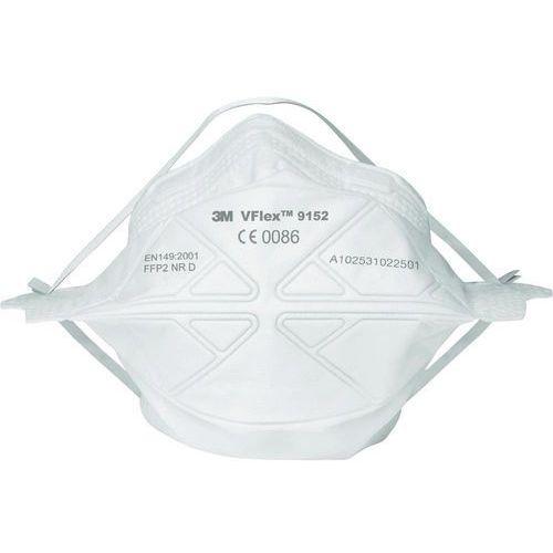 Maski ochronne VFlex 3M 70071565587 Klasa filtrów / stopień ochrony: FFP2 50 szt. (2050001608963)
