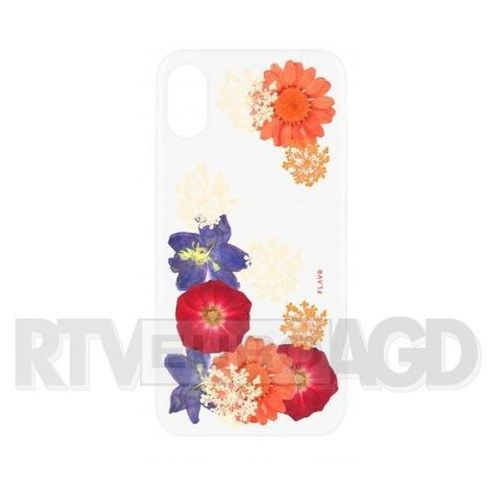 Etui FLAVR iPlate Real Flower Amelia do Apple iPhone X Wielokolorowy (30109) (4029948066141)