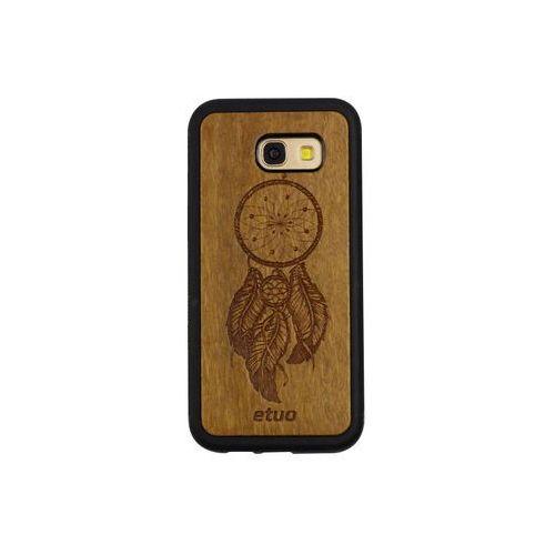 Samsung Galaxy A5 (2017) - etui na telefon Wood Case - Łapacz Snów - imbuia, ETSM479WOODLSI000