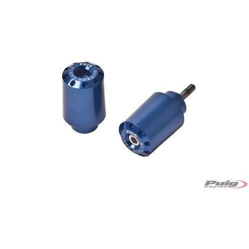 Końcówki kierownicy do Yamaha FZ8 / FZ1 / R6 / R1 (długie, niebieskie)