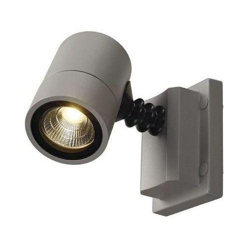 NEW MYRA WALL LED oprawa ścienna srebrnoszara, 3000K, IP55
