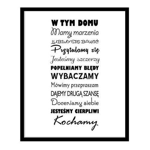 Obraz Napisy Druga Szansa 40 x 50 cm (5901554518803)