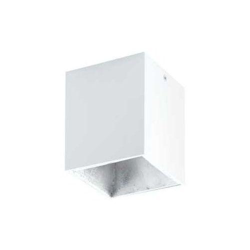 Plafon Eglo Polasso 94499 lampa oprawa sufitowa spot 1x 3,3W biały/srebrny LED