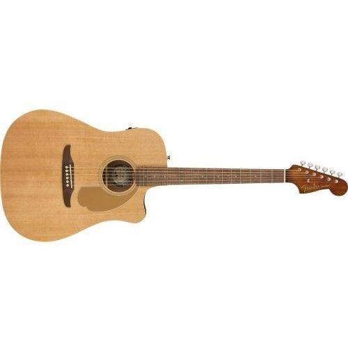 redondo player, walnut fingerboard, natural gitara elektroakustyczna marki Fender