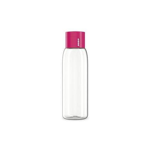 - dot różowa butelka na wodę pojemność: 0,6 l marki Joseph joseph