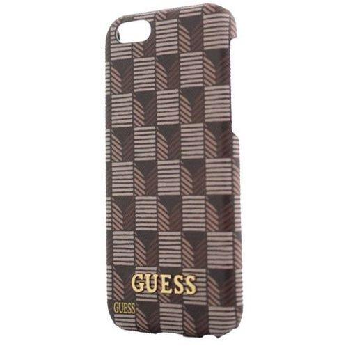 Guess  hardcase guhcp6jsbr iphone 6/6s brązowy jet set darmowa dostawa do 400 salonów !! (3700740368268)