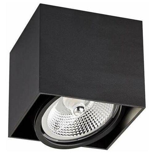Zuma Line Box 1 ACGU10-115 Plafon spot lampa sufitowa 1x15W GU10/AR111 czarny (2011006700267)
