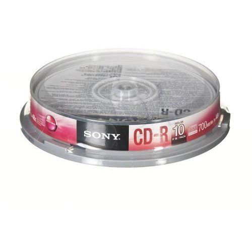Płyty cd-r sony 700mb 48x - spindle - 10szt. marki Sony