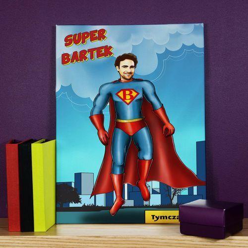Mygiftdna Super mężczyzna - obraz na płótnie - 60x90cm