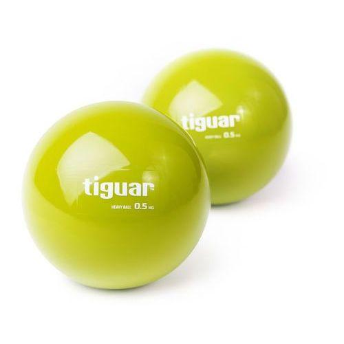 Tiguar Piłki heavyball 2 x 0,5 kg - 2 x 0,5 kg (5906660029359)