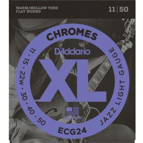 D'addario  ecg24 11-50 struny do gitary elektr.