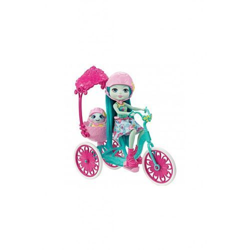Barbie Enchantimals lalka + pojazd (0887961447606)