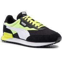Sneakersy - future rider neon play 373383 01 puma black/fizzy yellow, Puma, 40-46