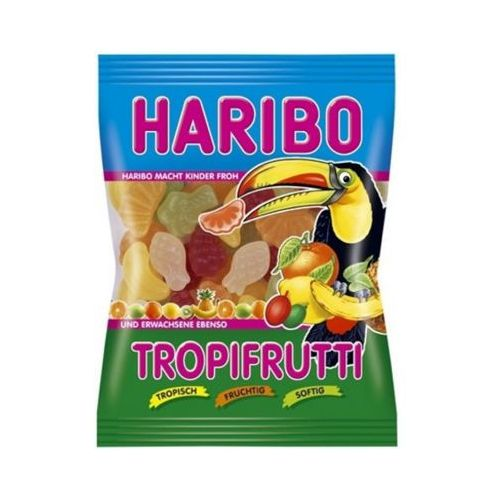 Haribo 200g tropifrutti niemieckie żelki
