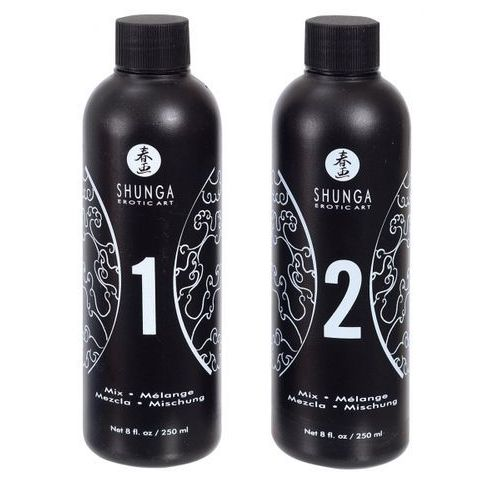 Shunga - strawberry & champagne massage gel 2 x 250 ml od producenta Shunga (can)