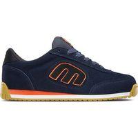 buty ETNIES - Lo-Cut Ii Ls Navy/Black/Orange (842) rozmiar: 37,5, kolor niebieski