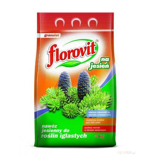 Florovit Nawóz jesienny do iglaków : pojemność - 3 kg (5900861142534)