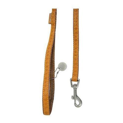 smycz mac leather 10mm/1.2m żółta [522010ja] marki Zolux