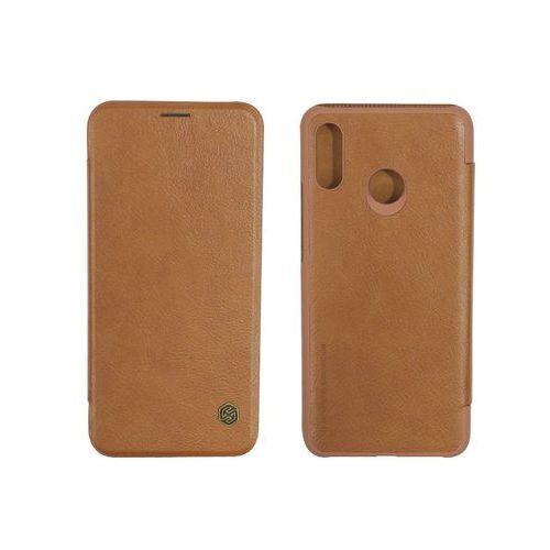 Huawei Nova 3 - etui na telefon Nillkin Qin - brązowy
