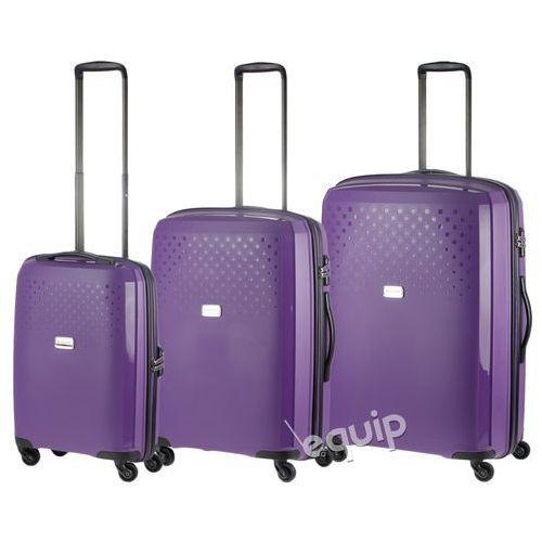 Zestaw walizek Puccini PP010 - fioletowy z kategorii Torby i walizki