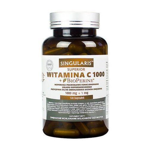 SINGULARIS Witamina C 1000mg + Bioperine x 120 kapsułek