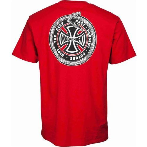 koszulka INDEPENDENT - Past, Present, Future Cardinal Red (CARDINAL RED) rozmiar: XL
