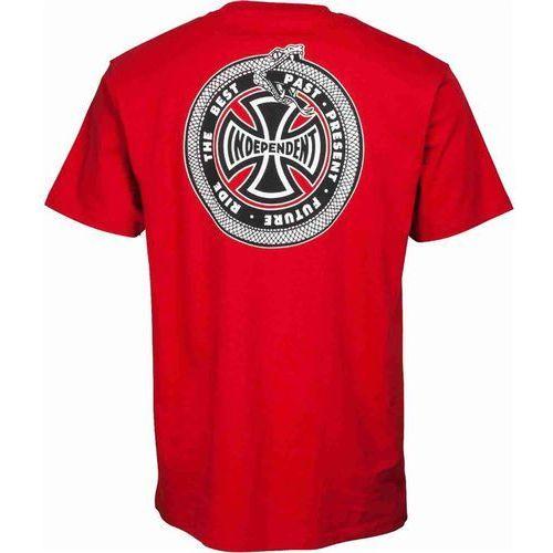 koszulka INDEPENDENT - Past, Present, Future Cardinal Red (CARDINAL RED)