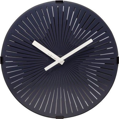 Zegar ścienny pulsująca, czarna gwiazda 30 cm (3224/3129) marki Nextime