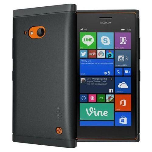 lite black | obudowa dla nokia lumia 730 marki Tudia
