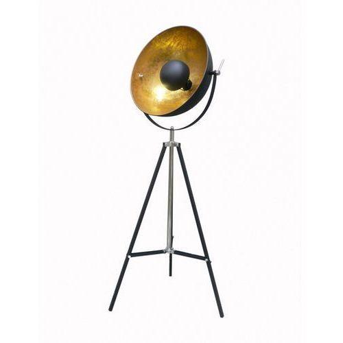 Lampa podłogowa antenne czarny/złoty bzl, ts-090522f-bk marki Zuma line