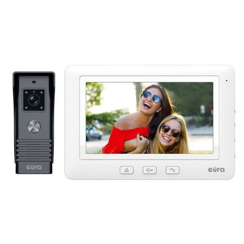 Wideodomofon alpha vdp-45a3 biały marki Eura