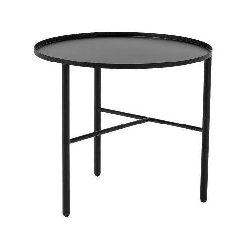 Metalowy stolik kawowy S, czarny - Bloomingville
