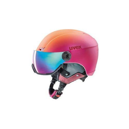 Uvex hlmt 400 visor style różowy 53-58 cm pomarańczowa 2018-2019 (4043197305998)