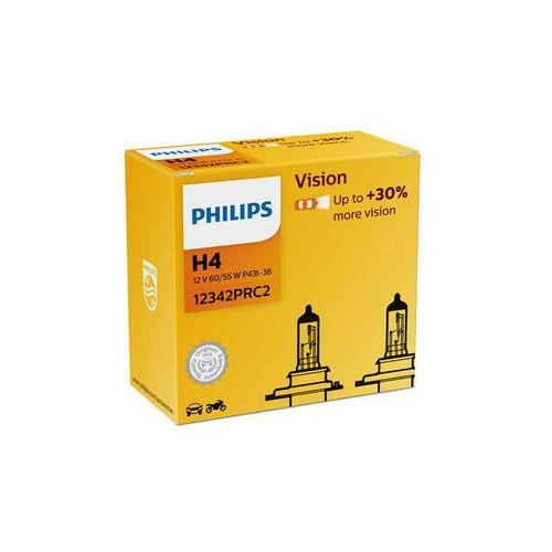 Philips żarówki samochodowe vision h4, 12 v, 60/55 w (2 szt.) (8711500780287)