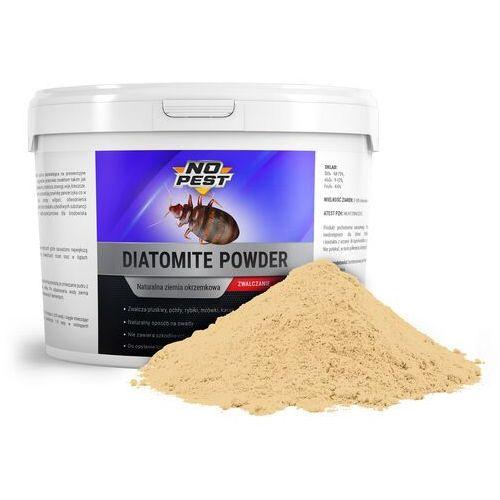Ziemia okrzemkowa na pluskwy, rybiki, karaluchy, mrówki Diatomite Powder NO PEST 500g. (5902838395264)