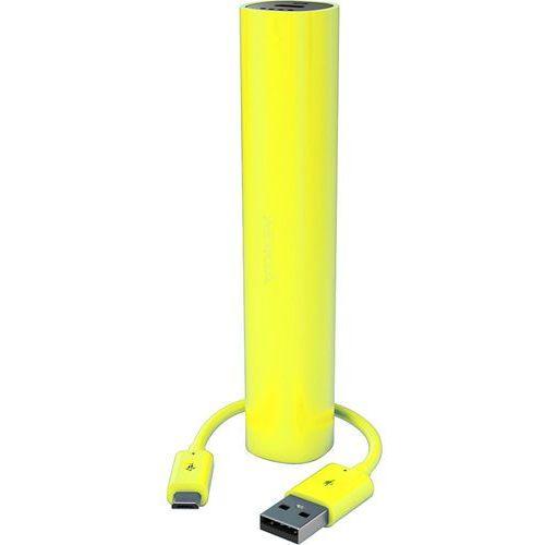 Nokia Ładowarka przenośna microusb  dc-16 żółta (2200 mah) - żółty