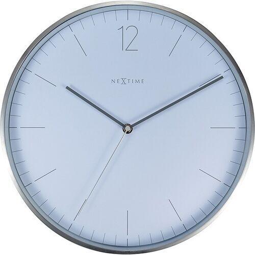 Zegar ścienny essential silver biały (8717713026372)