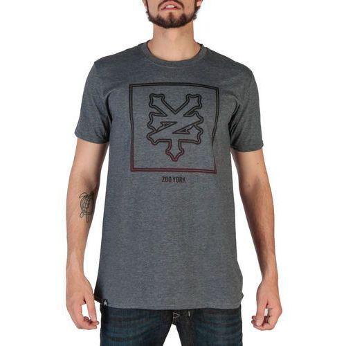 T-shirt koszulka męska ZOO YORK - RYMTS102-14, kolor niebieski